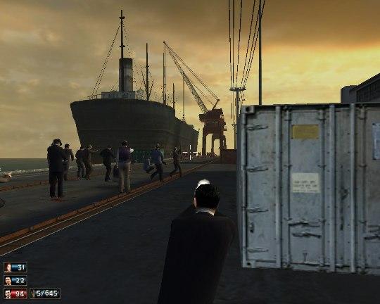 Port War by Mark